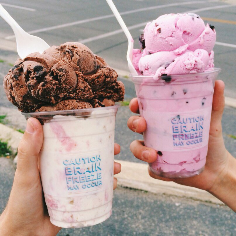 photography, ice-cream, aesthetic and food