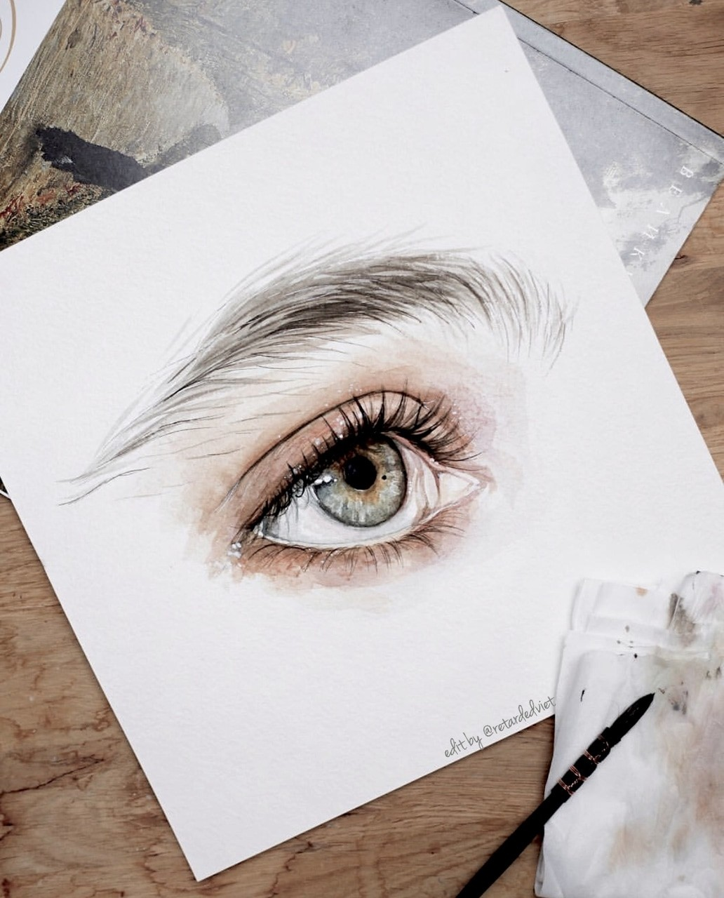 art, artist, colors and drawing