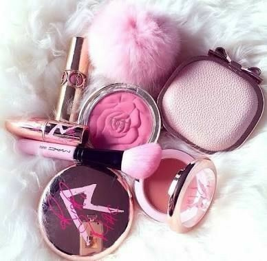 cosmetics, girly, makeup and pink