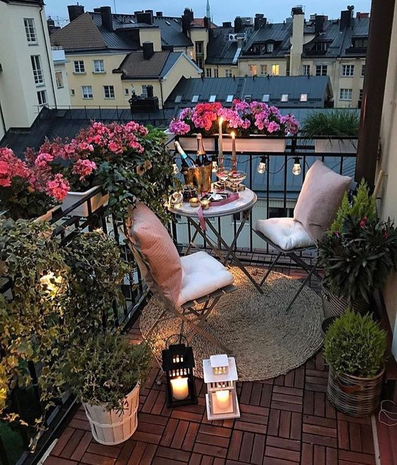 aesthetic, balcony, beauty and decor