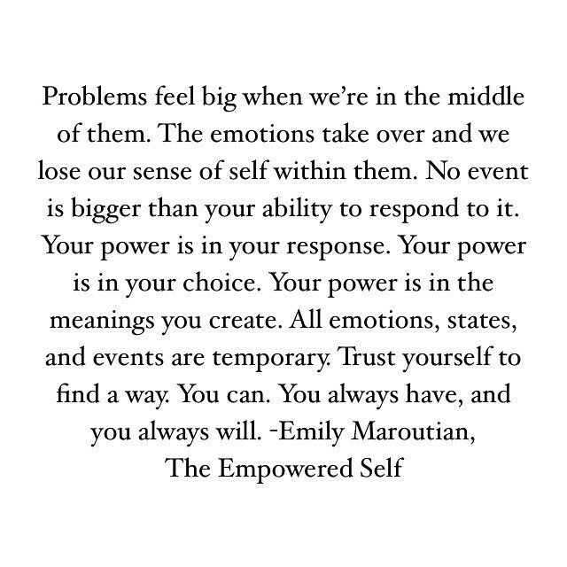 be yourself, choices, empowerment and encouragement