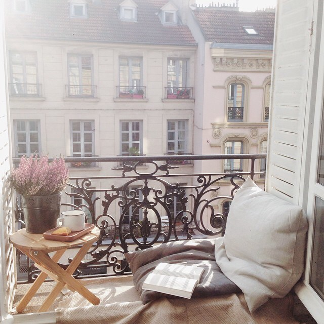 apartment, architecture, balcony and book
