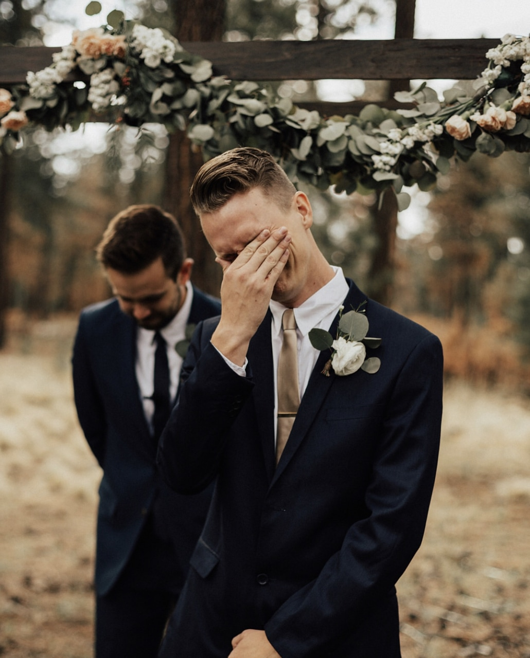 bride, couple photography, crying and emotional