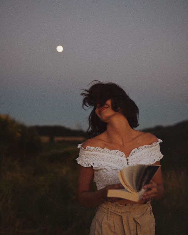 Dream, aesthetic, books and evening