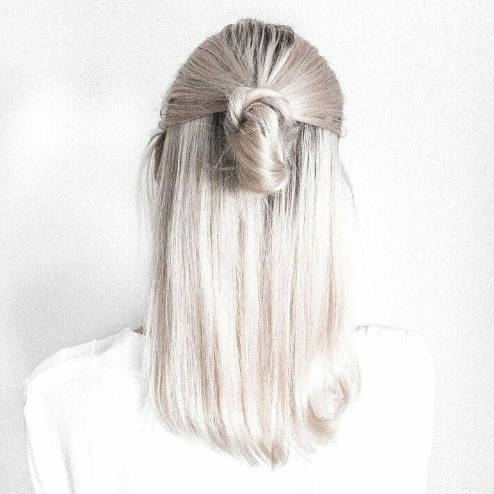 Girls Style Hair And White Hair Image 7638305 On Favim Com
