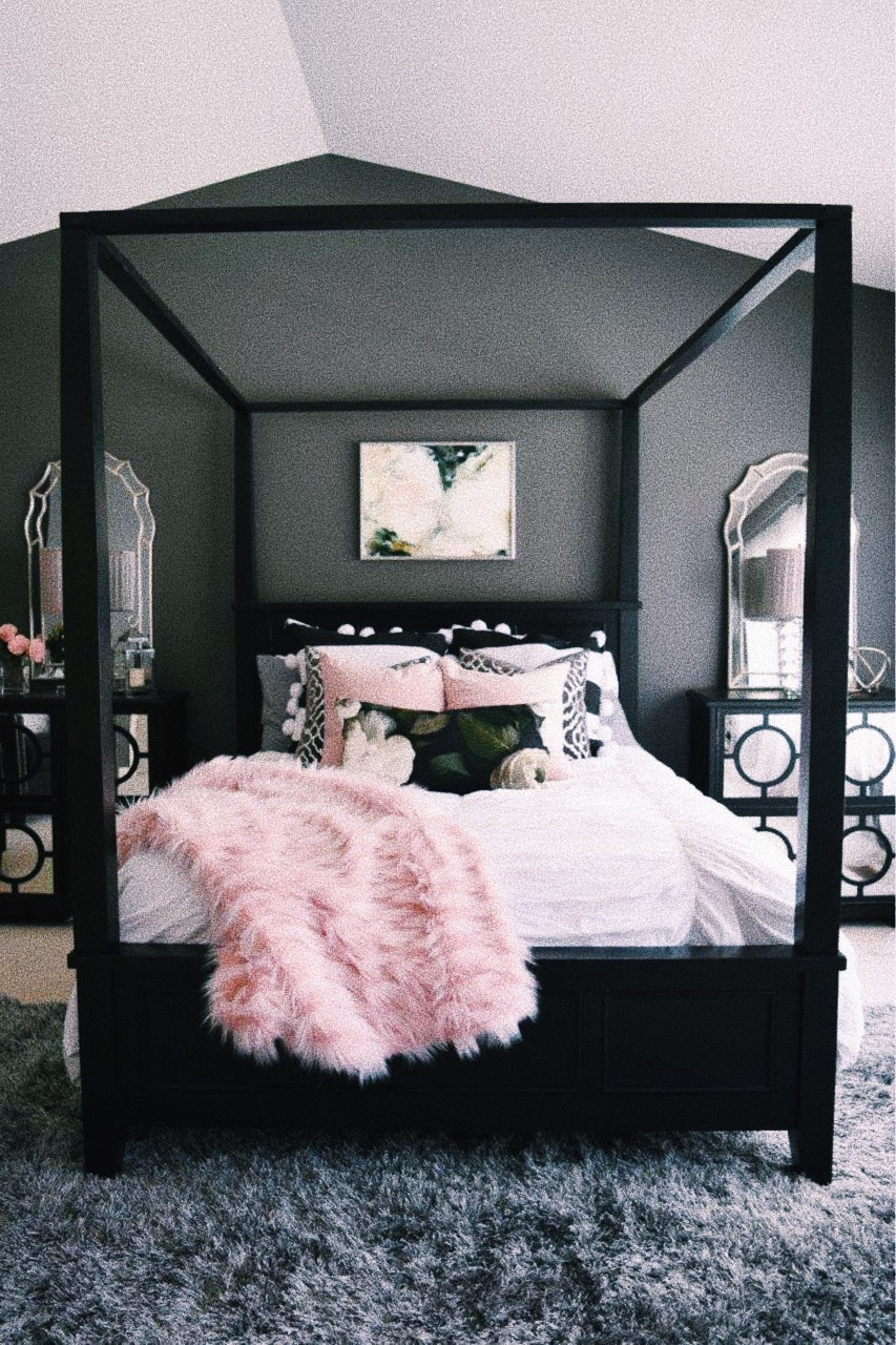 Image of: Pink Bed Bedroom And Theme Image 7647383 On Favim Com