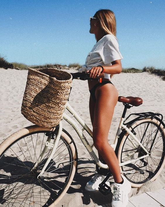 summer, inspiration, bicycle and fitness