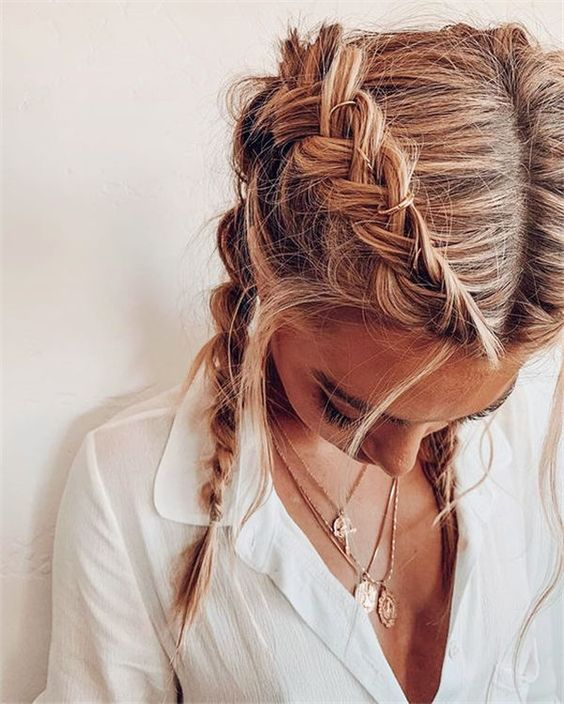 sparkle, braid, sparkly and woman