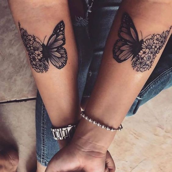 great, tattoo, friends and cute
