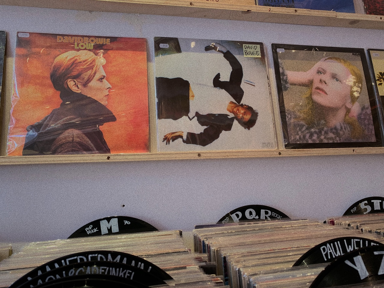 second hand, amsterdam, david and 80s