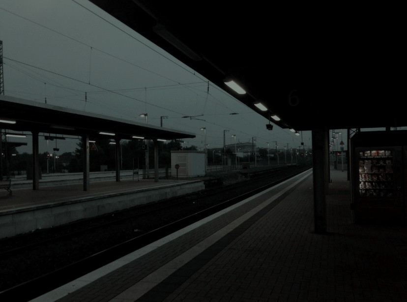 aesthetic, background, train and station