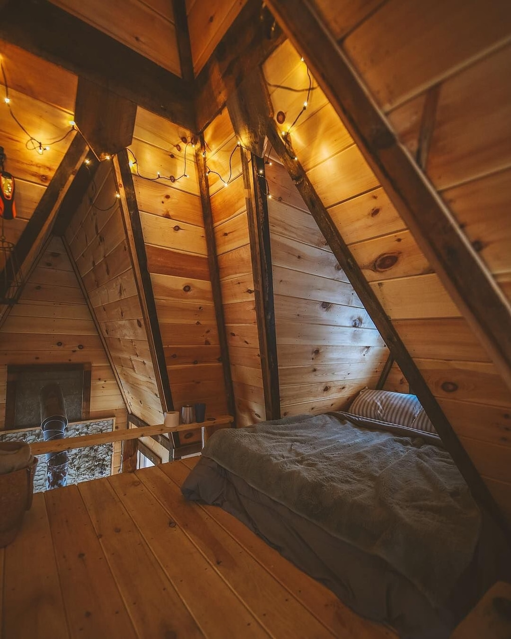 adverture, attic, brown aesthetics and camping