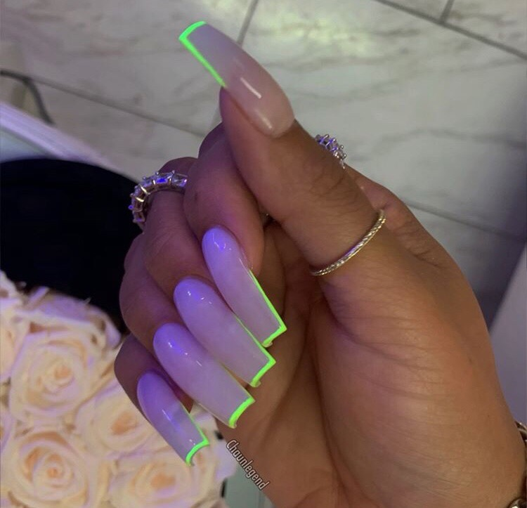 acrylics, claws inspo, nails goals and girly inspiration