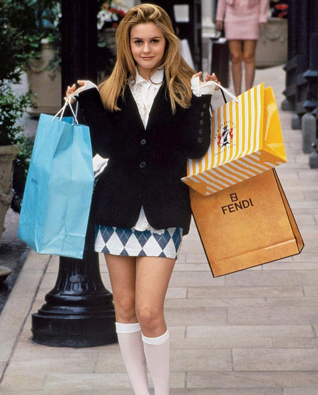 blonde, clueless girl, fashion and girl