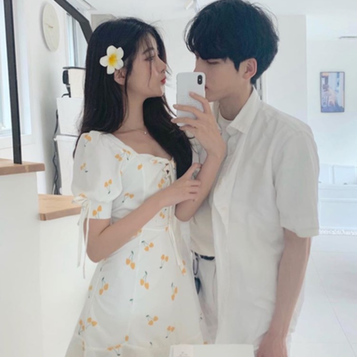 asian, boy, couple and female