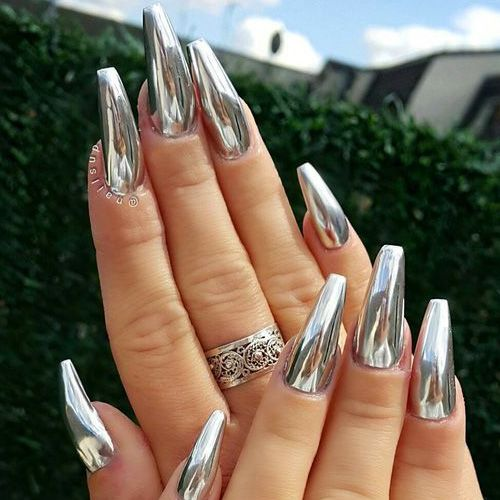 bling, manicure, nails and ring