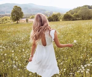 feed, girl, inspiration and nature