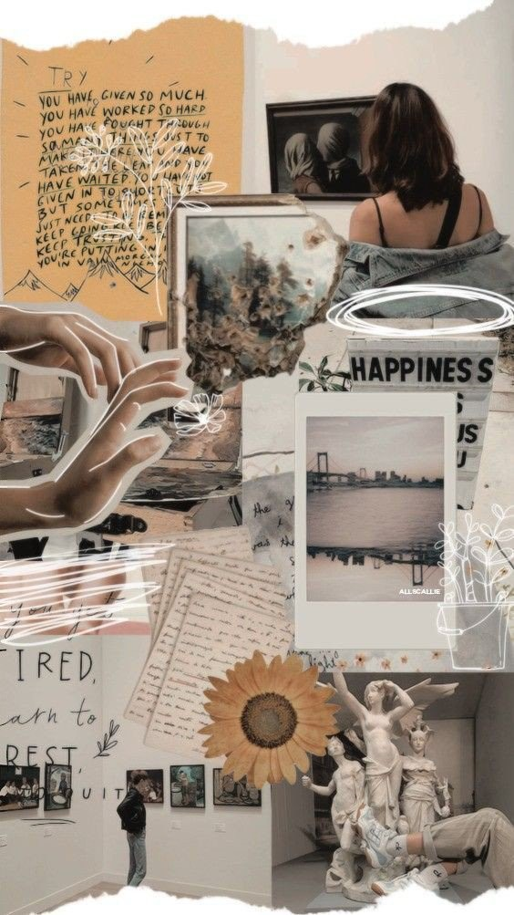 Collage, aesthetic, alternative and background