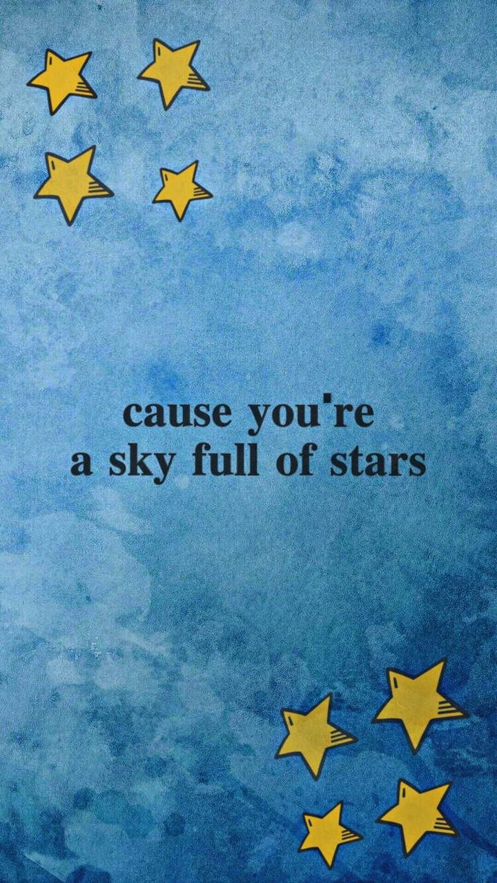 star, song, blue and sky