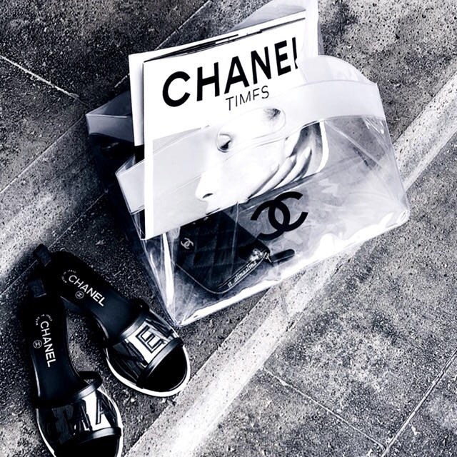 magazine, chanel, black and white and fashion