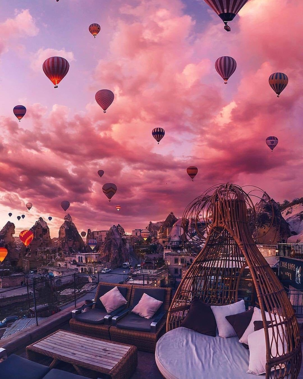 airballoons, place, pinksky and turkey