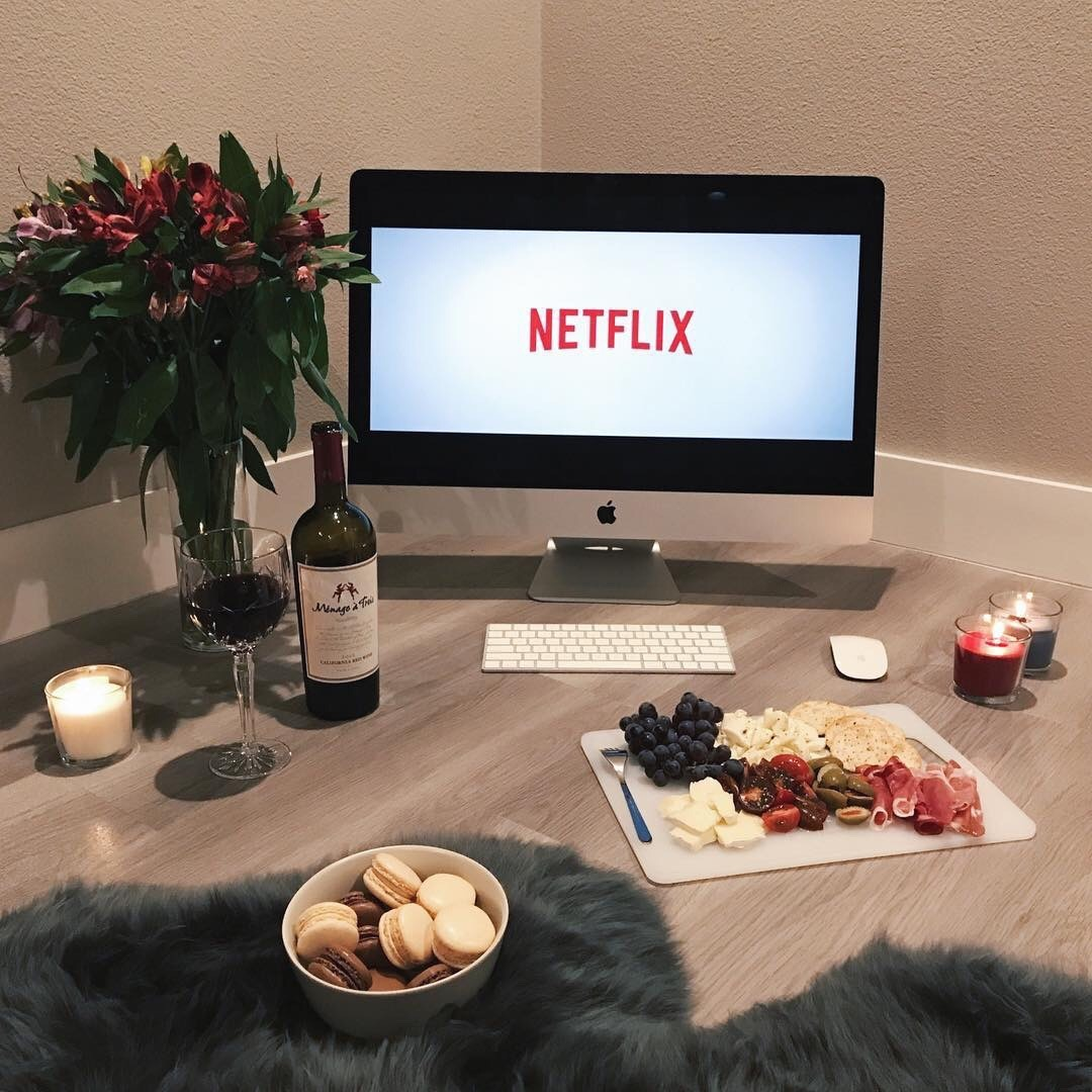?macarons, cooking, delicious and netflix