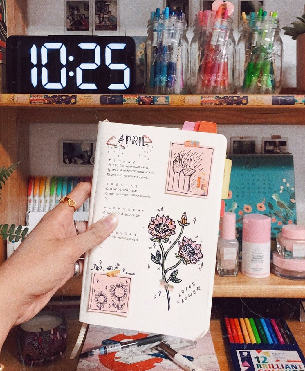 cute, writing, bujo and bullet journal