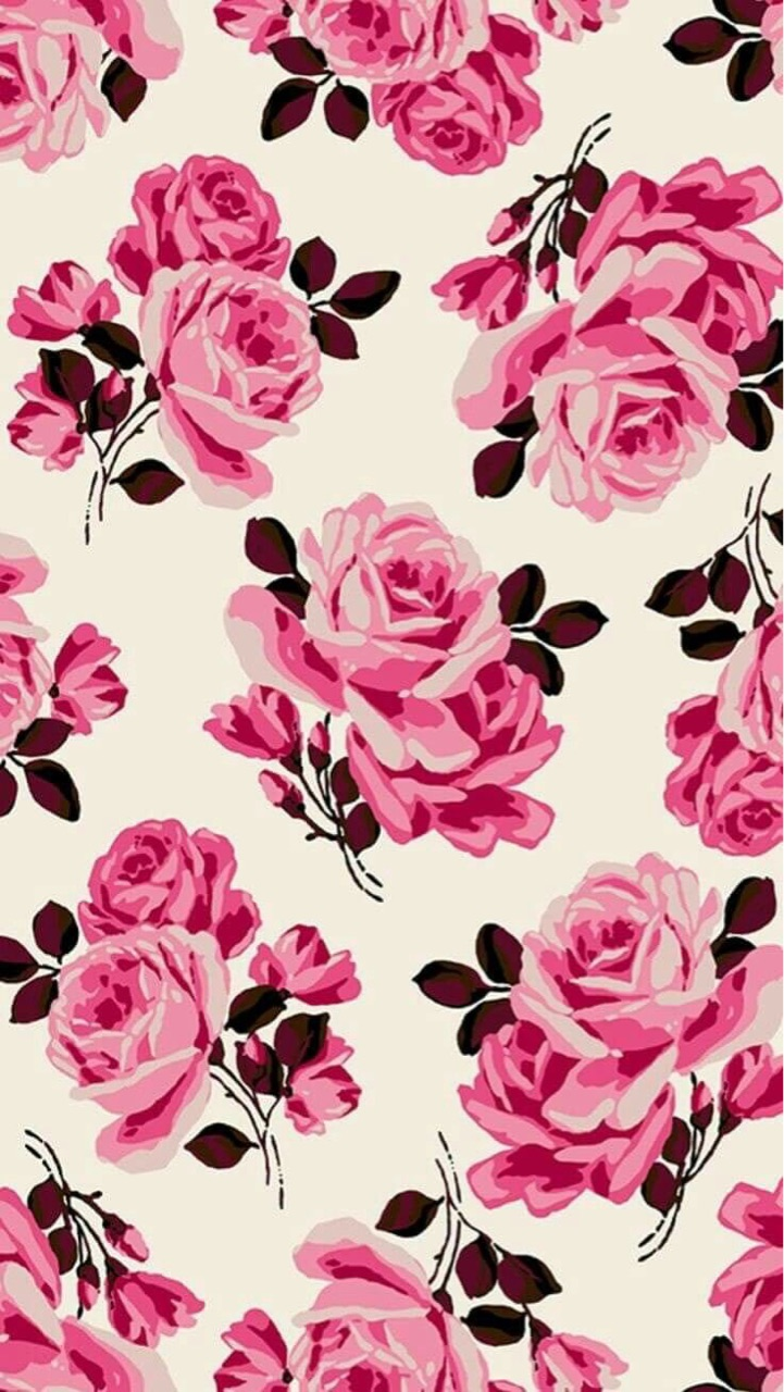 girly, cute, wallpaper and roses