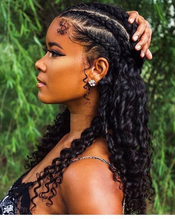 edges, melanin, hairstyles and beauty