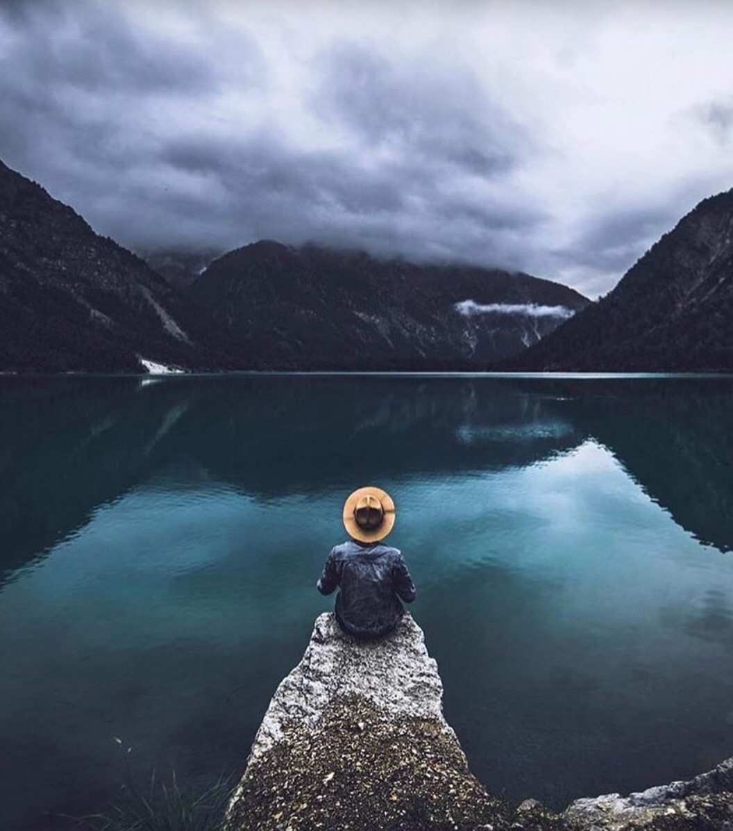 lake, wanderlust, mountains and travel