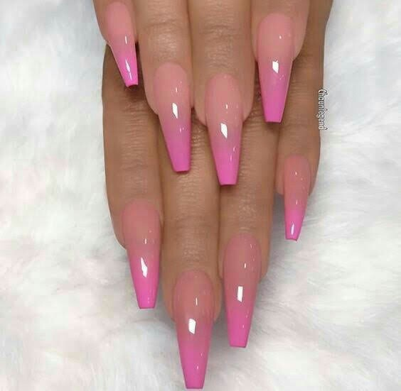 ombre, coffin and longs