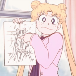 tumblr, pink aesthetic, draw and sailor moon