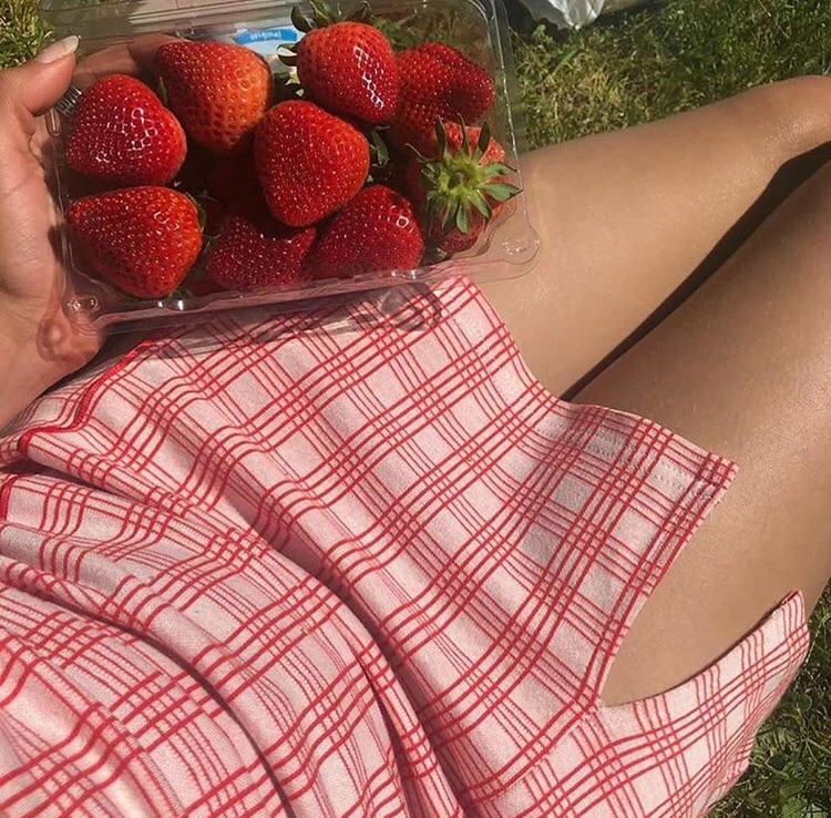 strawberries, alternative, red and colours