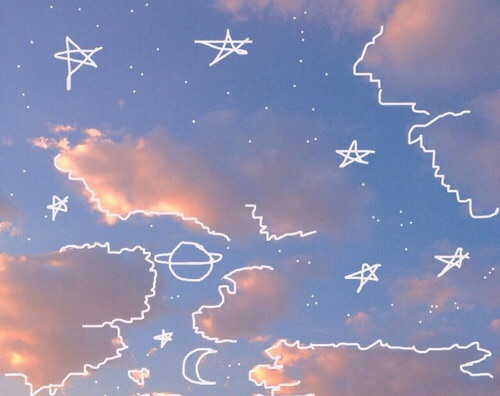 cloud, star, days and art