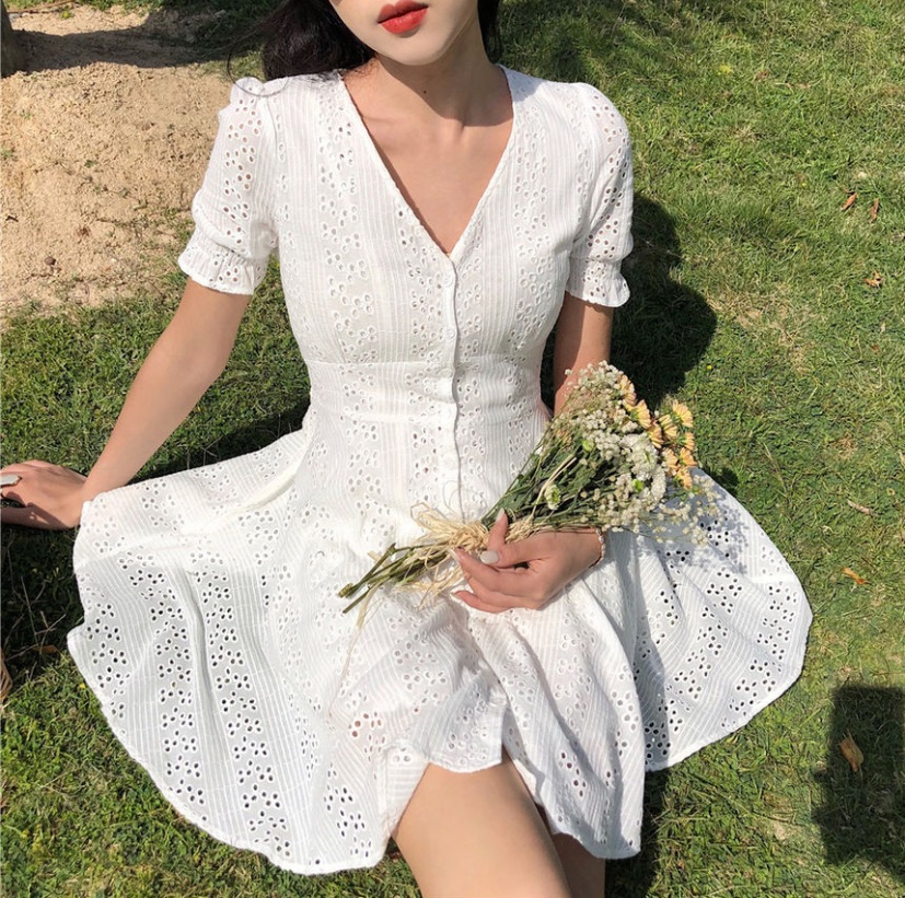 lacey, dress, chic and model