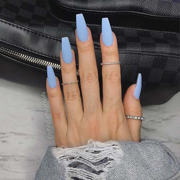matte, manicure, claws and nails