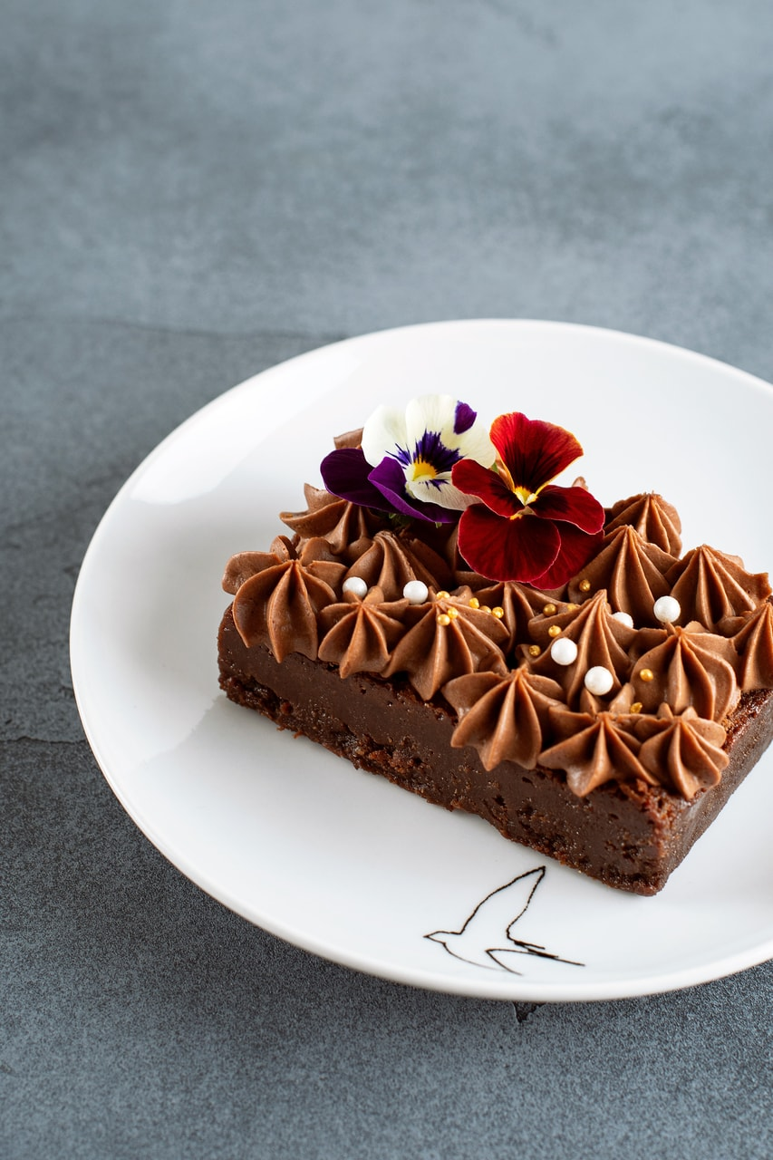 chocolate, delicious, cake and food