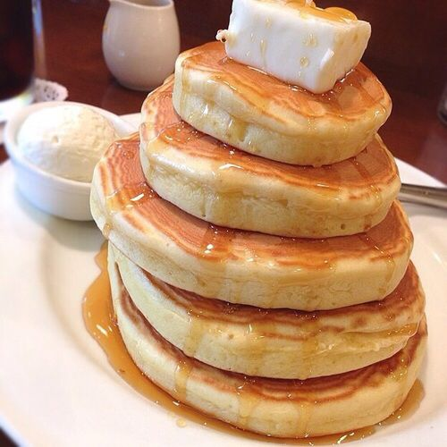 pancakes, aesthetics and food