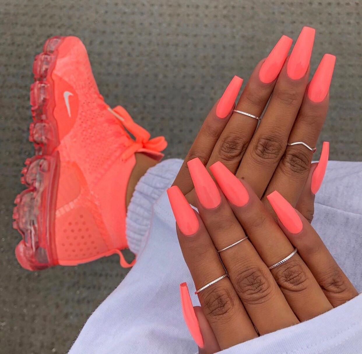sneakers, claws, shoes and neon