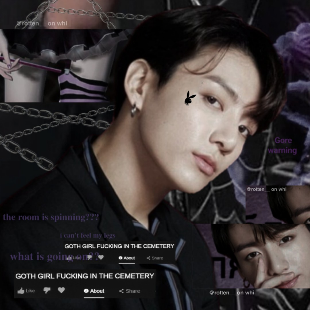 cyber, edgy, jungkook and edit