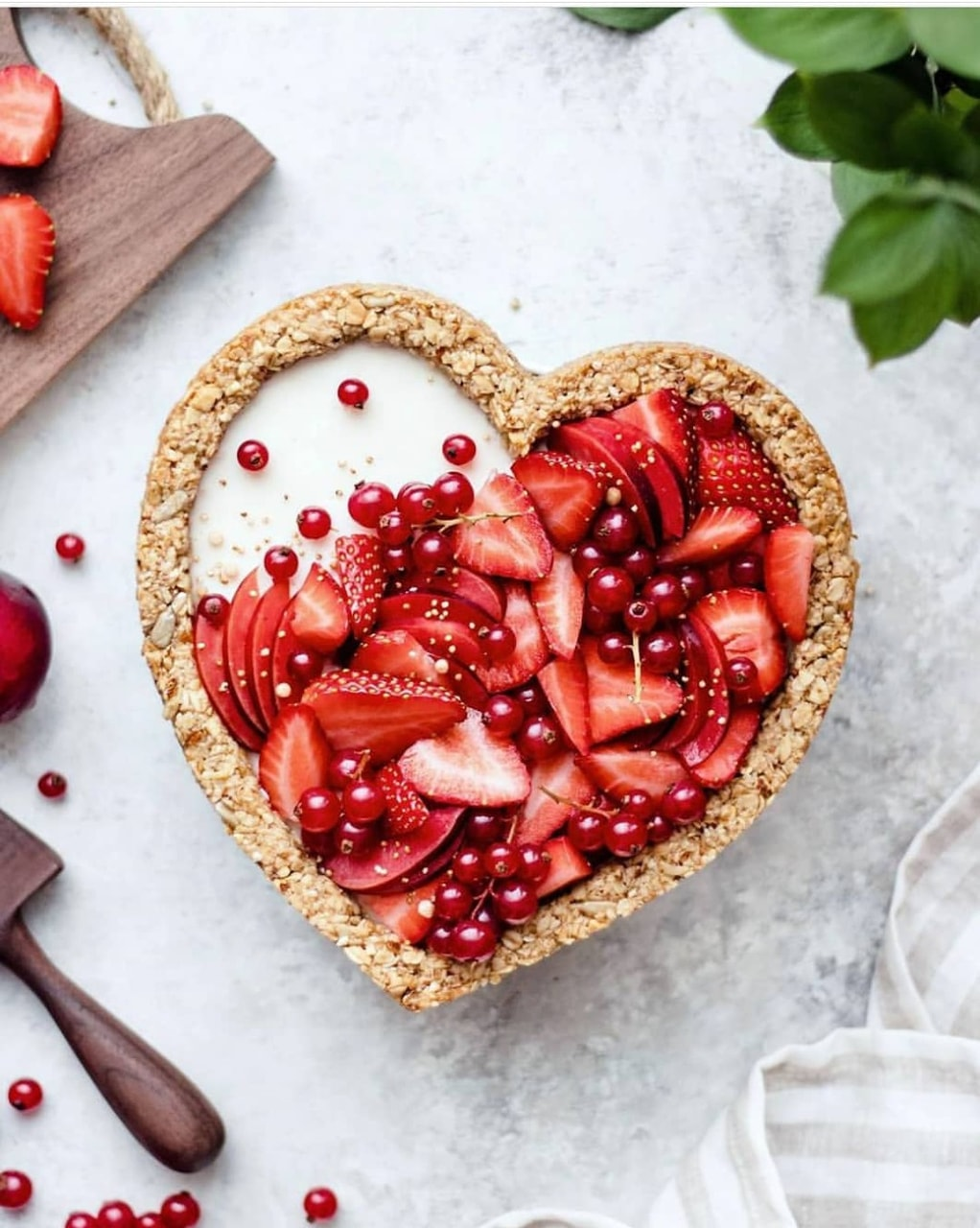 strawberry, yummy, FRUiTS and heart