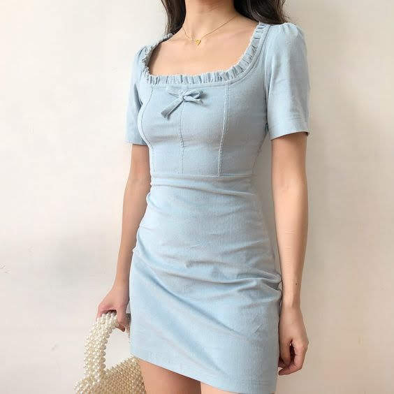 ulzzang fashion, aesthetic, cute dress and cute outfits