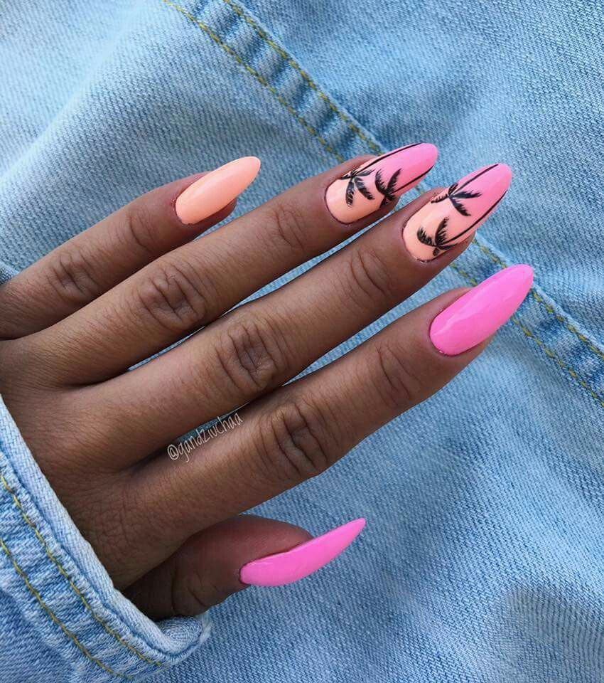cool, beach glam, ombre and neon
