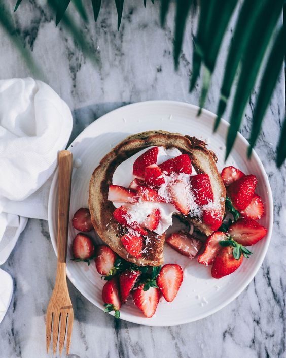 strawberry, style, food and cute