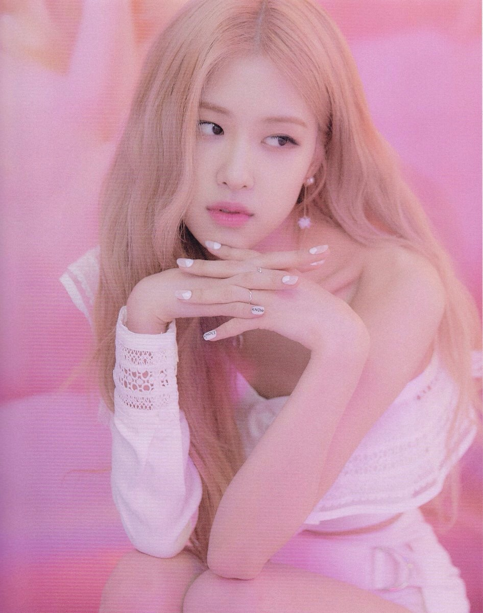 asian, blackpink rose, k pop and icons