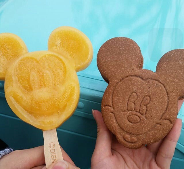 carefree, mickey mouse, ice cream and disney