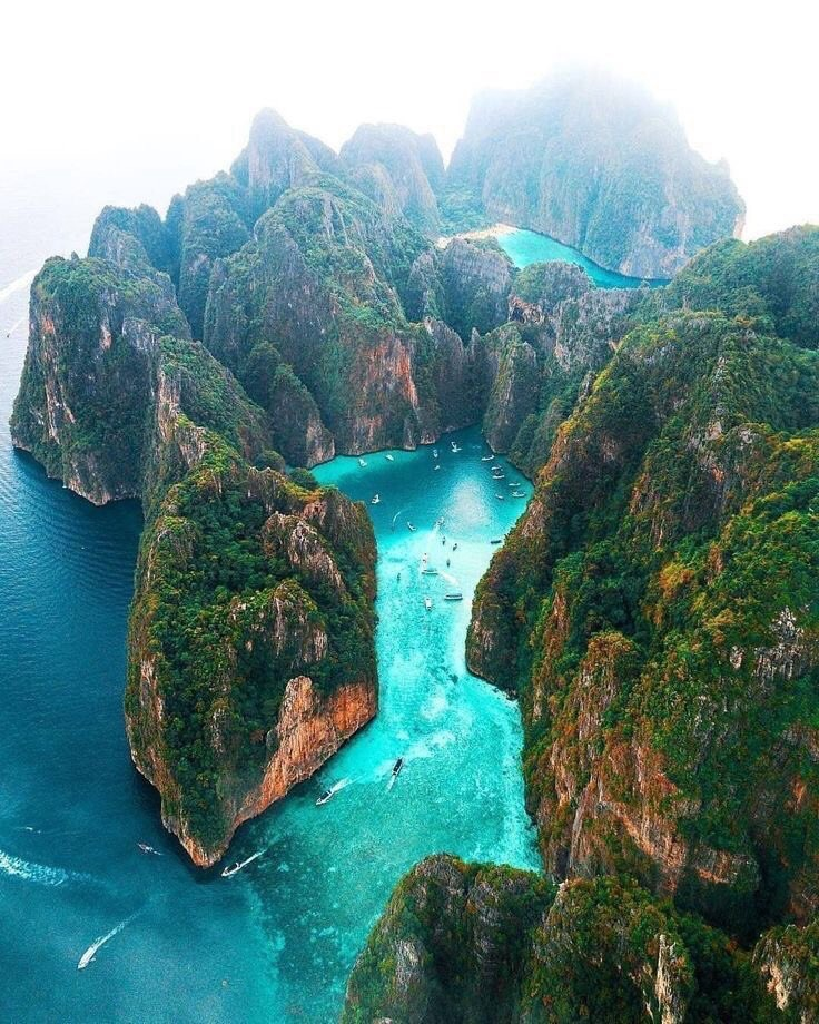 thailand, beautiful, summer vibes and phi phi island