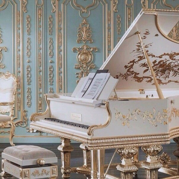 piano, vintage, design and chic