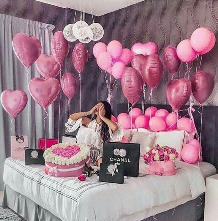 chanel, birthday party, surprise and parties decorations