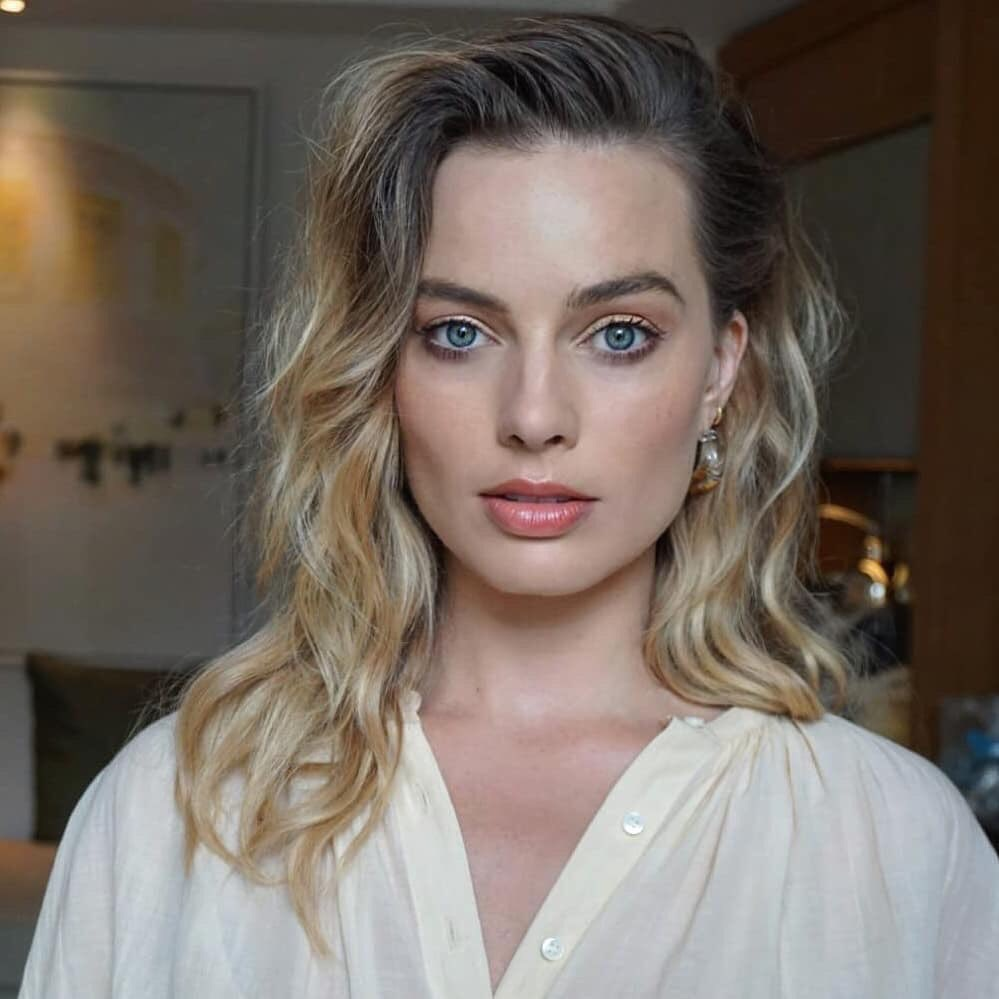 hair, beauty, margot robbie and actress